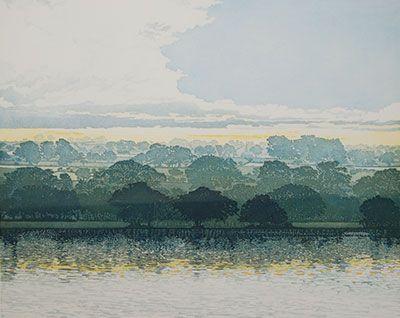 Phil Greenwood Etching at Norton Way Gallery Hertfordshire Letchworth