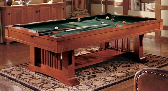 Pool table to match my semi craftsman house - Brunswich Mission