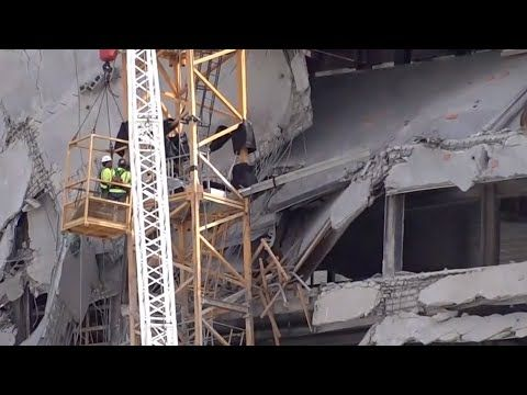 Worker Injured In New Orleans Hard Rock Hotel Collapse Detained By