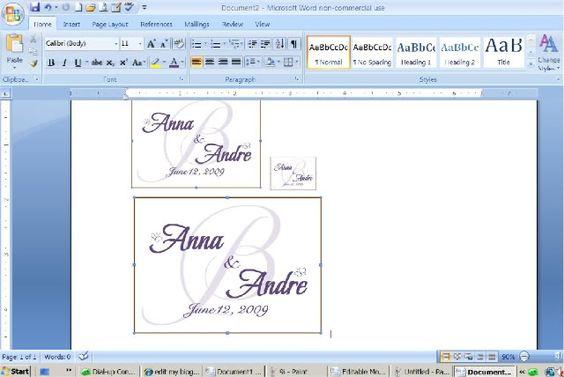 RSVP postcard inserts DIY on Microsoft Word  wedding diy - microsoft word postcard template