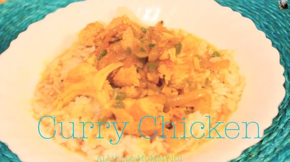 ALLthingsMOMMY101: Curry Chicken