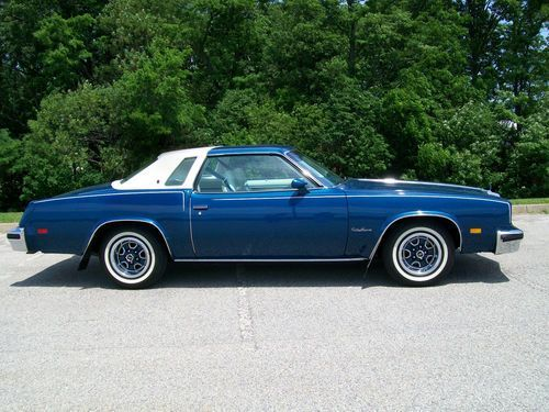 1976 oldsmobile cutlass supreme coupe 2 door 5 7l image for 78 cutlass salon