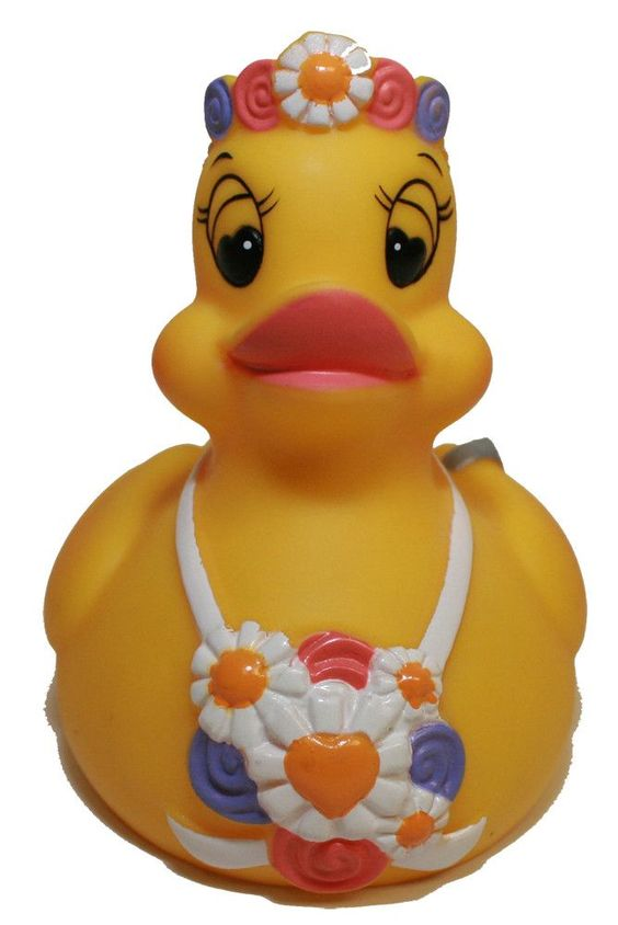 Rubber Ducks Family Bride Rubber Duck, Waddlers Brand Party Supplies Wedding ...
