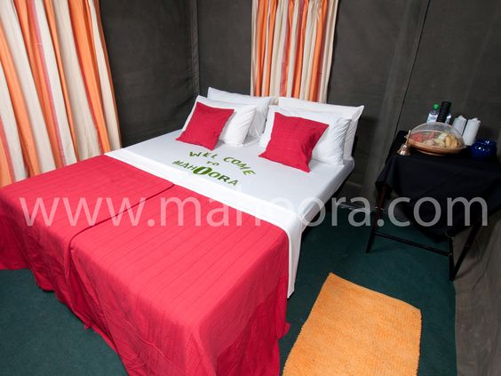 Interior View of Mahoora Tent - Luxury at its finest.