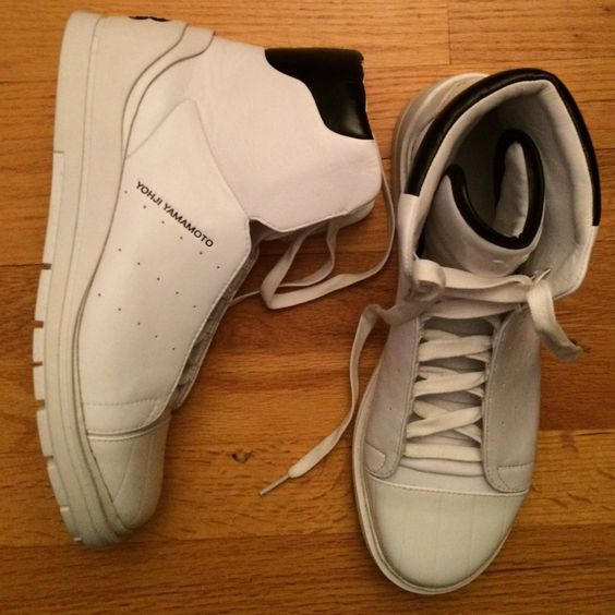 Y 3 Shoes | Yohji Yamamoto (Y3) High Top Sneakers | Color