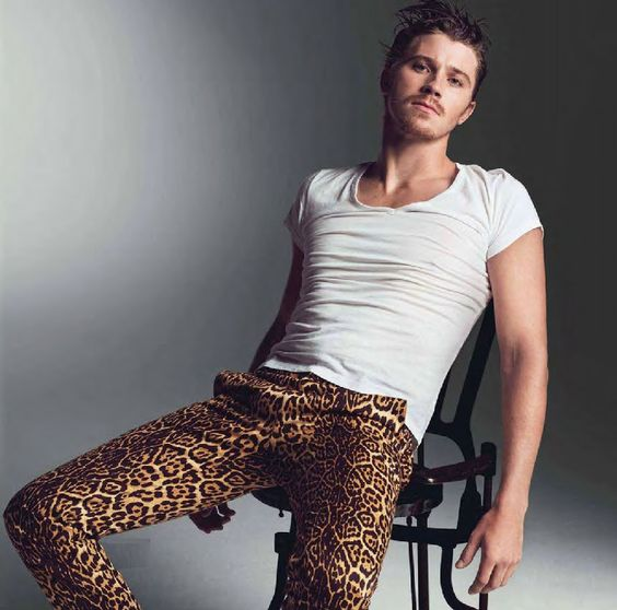 I don't think the world is quite ready for men in cheetah print pants.
