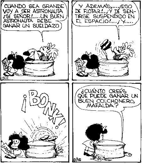 Mafalda - (Quino):