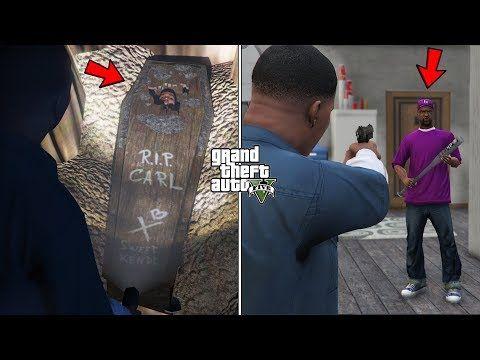 I Found Cj S Grave In Gta 5 Carl Johnson Safehouse Unlocked Youtube Carl Johnson Gta 5 Gta