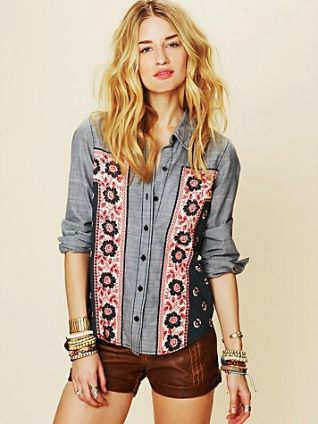 Saddle up and prepare to wrangle pure style in this summer trend as you channel the wild wild west. http://ow.ly/cBou9 (Image: Free People)