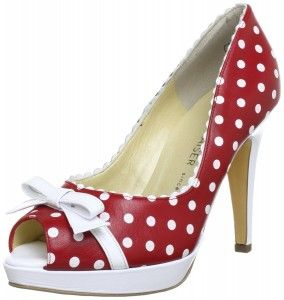 These shoes from Peter Kaiser are very cute, yet also very sexy.