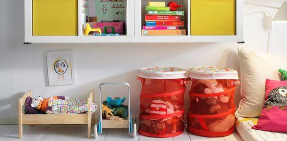 Nunca hay juguetes de más ¡hay espacio de menos!