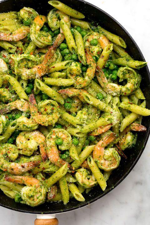 this shrimp pesto shrimp pasta penne meals pasta boss pesto shrimp ...