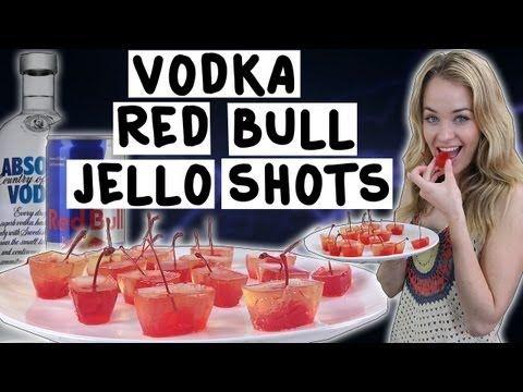 Vodka Red Bull Jello Shots Recipe — Dishmaps