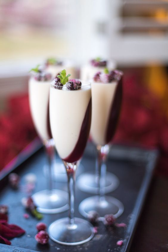 Want a Quick, Easy, Elegant Dessert -This no fail cranberry panna cotta recipe is an Italian dessert that you can make at least two days ahead.