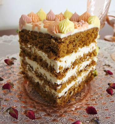 Spring Carrot Cake - Vegan