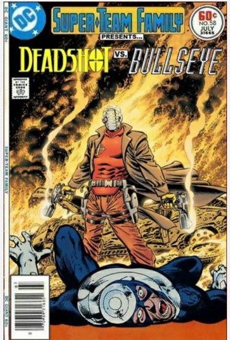 Super Team Family: Deadshot vs Bullseye