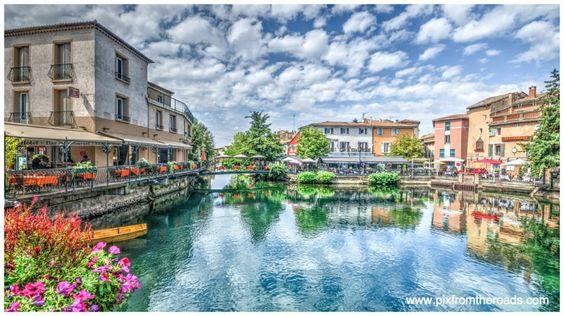 Isle sur la Sorgue, Provence, France #vaucluse #france #islesurlasorgue #provence #aqueduc #brocante