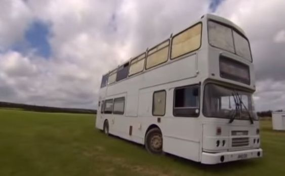 Daniel Bond, a self-employed electrician, found it impossible to get approved for a mortgage. So he and his partner decided they would turn a double decker bus into their very own mortgage-free two...
