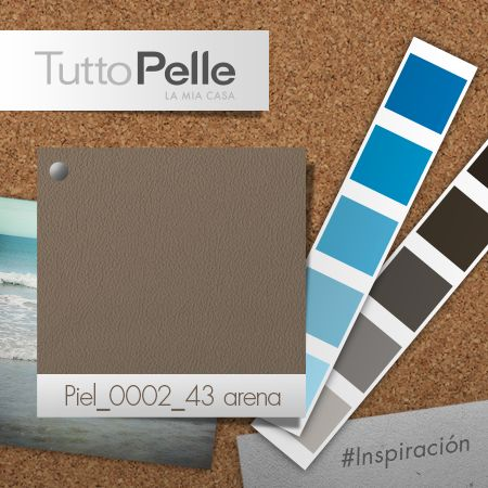 #TuttoPelle #Interiorismo #Color #Arena #Playa #Marítimo
