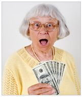 list of senior citizen discounts...from age 50 up