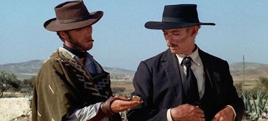 """""""The good, the bad and the ugly""""  Sergio Leone  (1966)"""