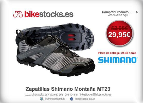 Bikers! SUPER PROMO de la semana!   Zapatillas Shimano Montaña MT23 - http://bit.ly/1oapNo3   #zapatillas #oferta #bikestocks