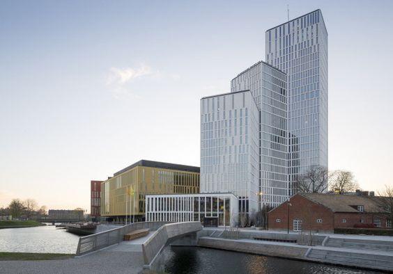 Komposition der Kuben - Kulturzentrum von SHL in Malmö