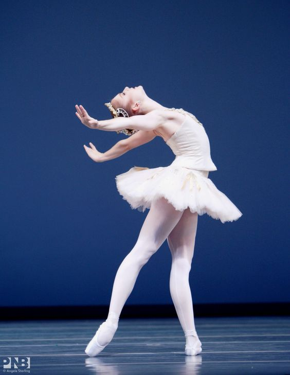 "Carla Körbes, ""Diamonds"" from ""Jewels"", Pacific Northwest Ballet - Photogrfapher Angela Sterling"