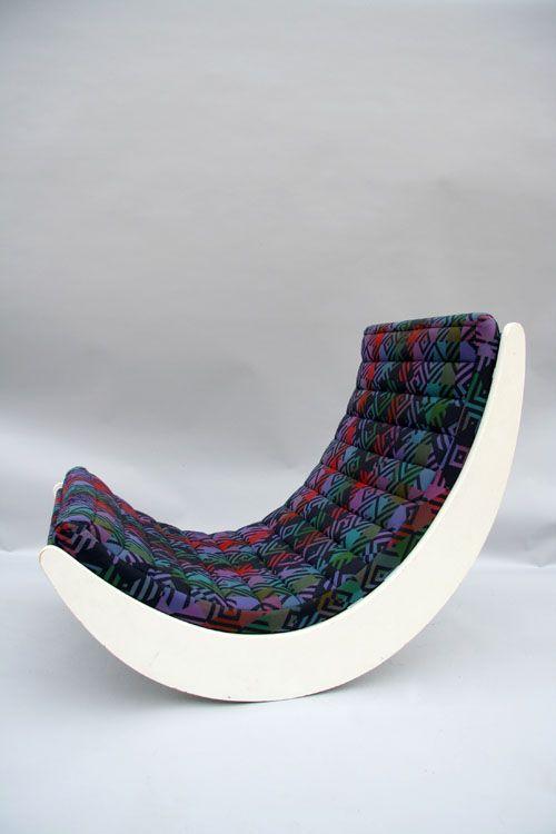 Deense vintage stoel - Verner Panton