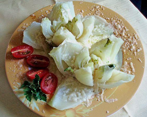 Fenchelgemüse mit frischem Parmesan