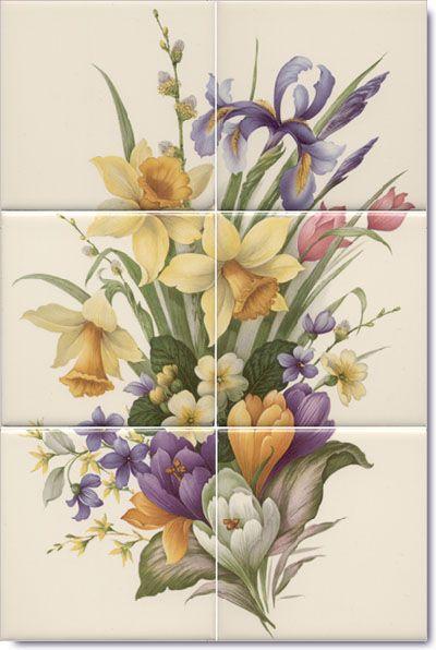 Murals Flower Mural And Flower On Pinterest