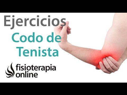 Auto-tratamiento y ejercicios para la epicondilítis o codo de tenista. | Fisioterapia Online