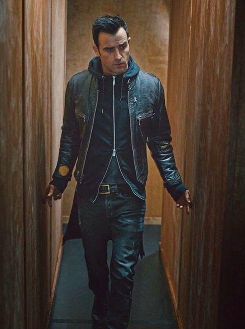 Justin Theroux || two-way zip hoodie