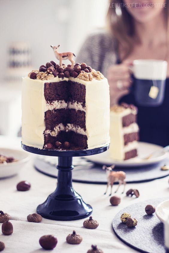 butiksofie: Teeklatsch mit Lipton Tee, ein Interview mit dem 50er Jahre Berli Kino und ein Brownie Nuss Buttercreme Törtchen