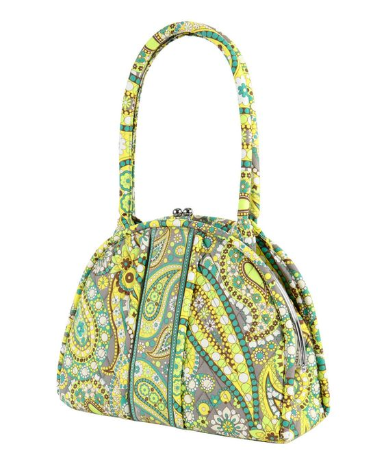 Another great find on #zulily! Lemon Parfait Eloise Shoulder Bag by Vera Bradley #zulilyfinds