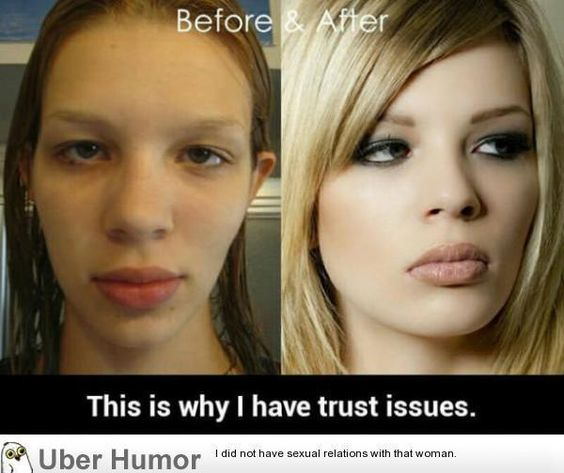 Before and after makeup #funny #lolpic.twitter.com/q3LemHfx0F http://ibeebz.com