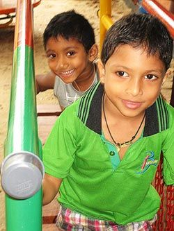 AmeriCares: New Playground Brings Health and Happiness to Disabled Children in Sri Lanka. #SriLanka #Children