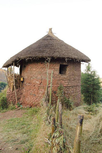 Village hut - Lalibela, Ethiopia