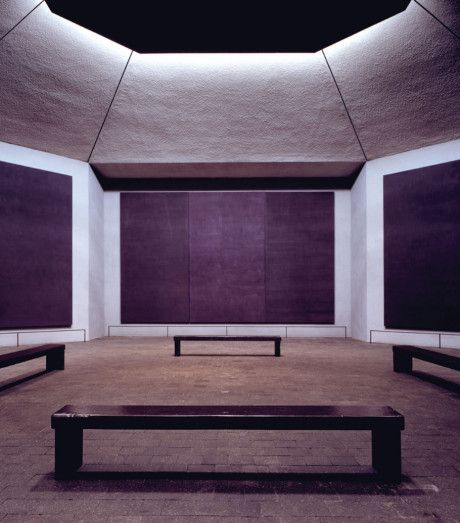 Rothko Chapel, 1971, Houston, Texas | Philip Johnson, Mark Rothko - One of my favourite places on the planet, even though I've never been there. Rothko is a genius.: