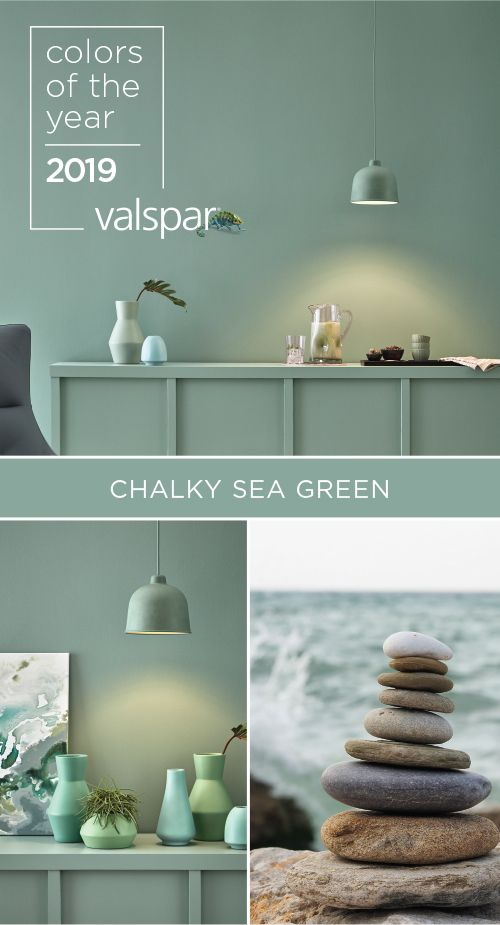 Wondrous This Harmonious Green Blue Is Perfectly Balanced To Inspire Interior Design Ideas Clesiryabchikinfo