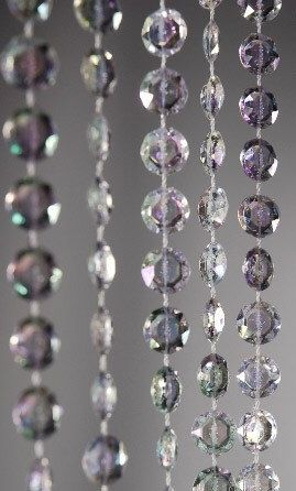 "Crystal Beaded Acrylic Curtains (35"" Wide X 6'-20' lengths) - Perfect For Weddings, Decorating Wedding Arches, Etc by BeachWeddingSupply on Etsy https://www.etsy.com/listing/223239140/crystal-beaded-acrylic-curtains-35-wide"