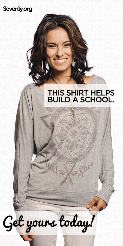 Education can be a powerful tool to unlock the chains of poverty.    But in Guatemala, the average child only goes to school for 3 years... leaving little hope for a brighter future.     Each shirt helps build 2 classrooms, and place pencils in the hands of kids -> www.sevenly.org/Ryan