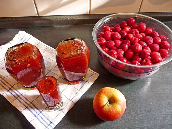 Apfel - Kirsch - Marmelade, ein leckeres Rezept aus der Kategorie Sommer. Bewertungen: 6. Durchschnitt: Ø 4,0.