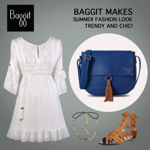 Baggit has introduced this stylish 70s-inspired #saddlebag adorned with a cute fringe accent to compliment that boho-inspired look the brand has created to flaunt in this sunny weather.  Read On : https://goo.gl/gqSVPk