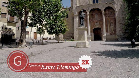 GRANADA   CENTRO   Cuesta del Progreso. Los Campos. Calle Palacios. Iglesia Santo Domingo. 2K