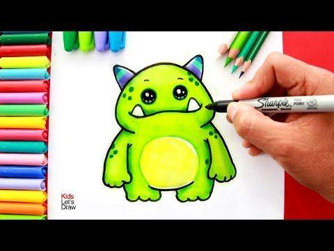 Aprende A Dibujar Un Ogro Kawaii Facil How To Draw A Cute Ogre Easy Youtube Aprender A Dibujar Ogro Kawaii
