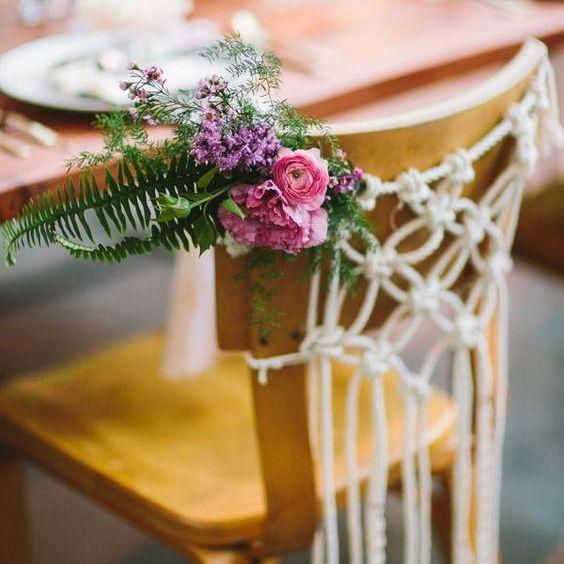 Flores y cuerdas