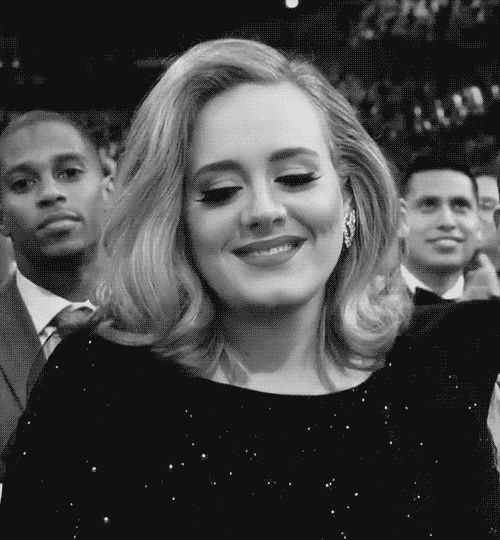 Pin for Later: 24 Adele Reaction GIFs That Are Realer Than Real When You Tell a Joke and Nobody Hears It, Then Someone Else Repeats It and Everyone Laughs Their Asses Off