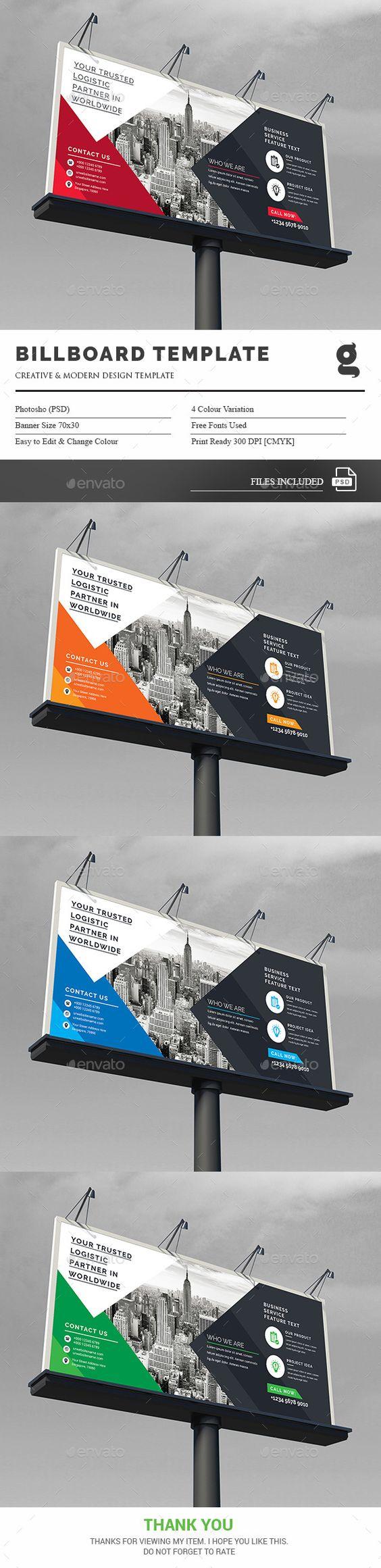Billboard Template PSD. Download here: https://graphicriver.net/item/billboard-template/17377702?ref=ksioks