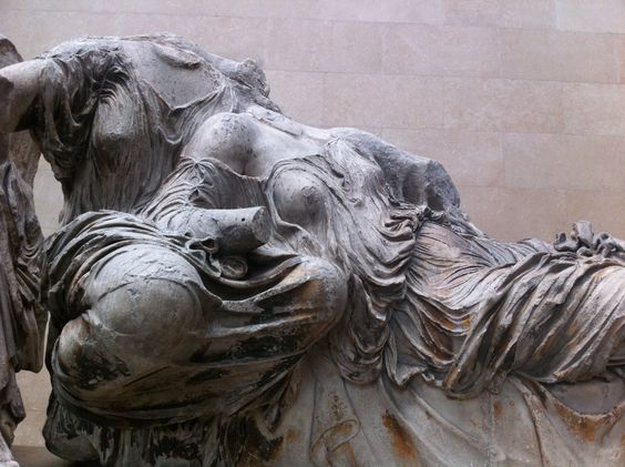 Parthenon Marbles from Greece shot at British Museum 2014